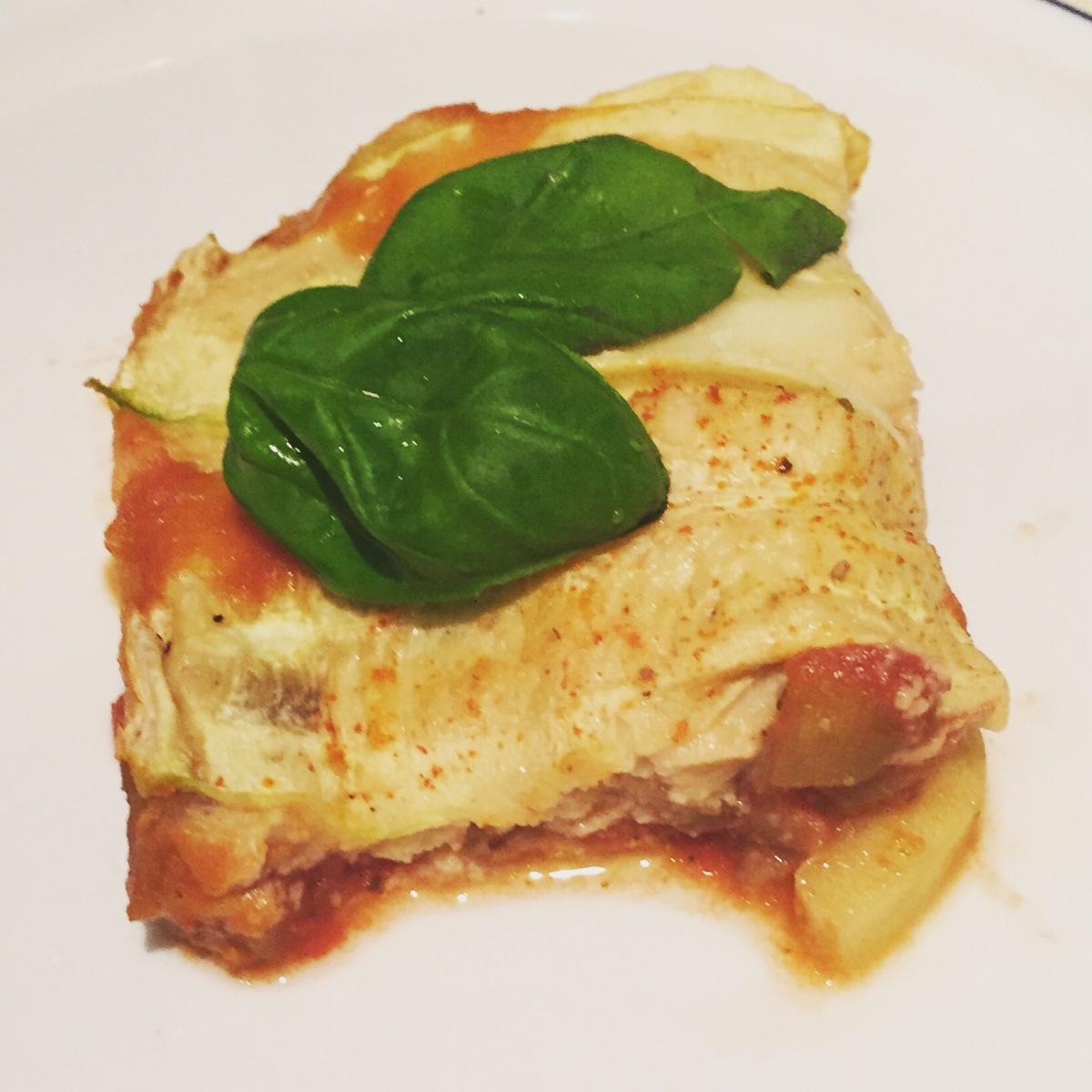 Heerlijke vegan en glutenvrije lasagne met vegan bechamelsaus.