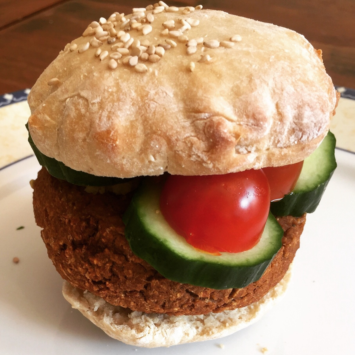 Simpele Vegan Burger of gehaktballetjes