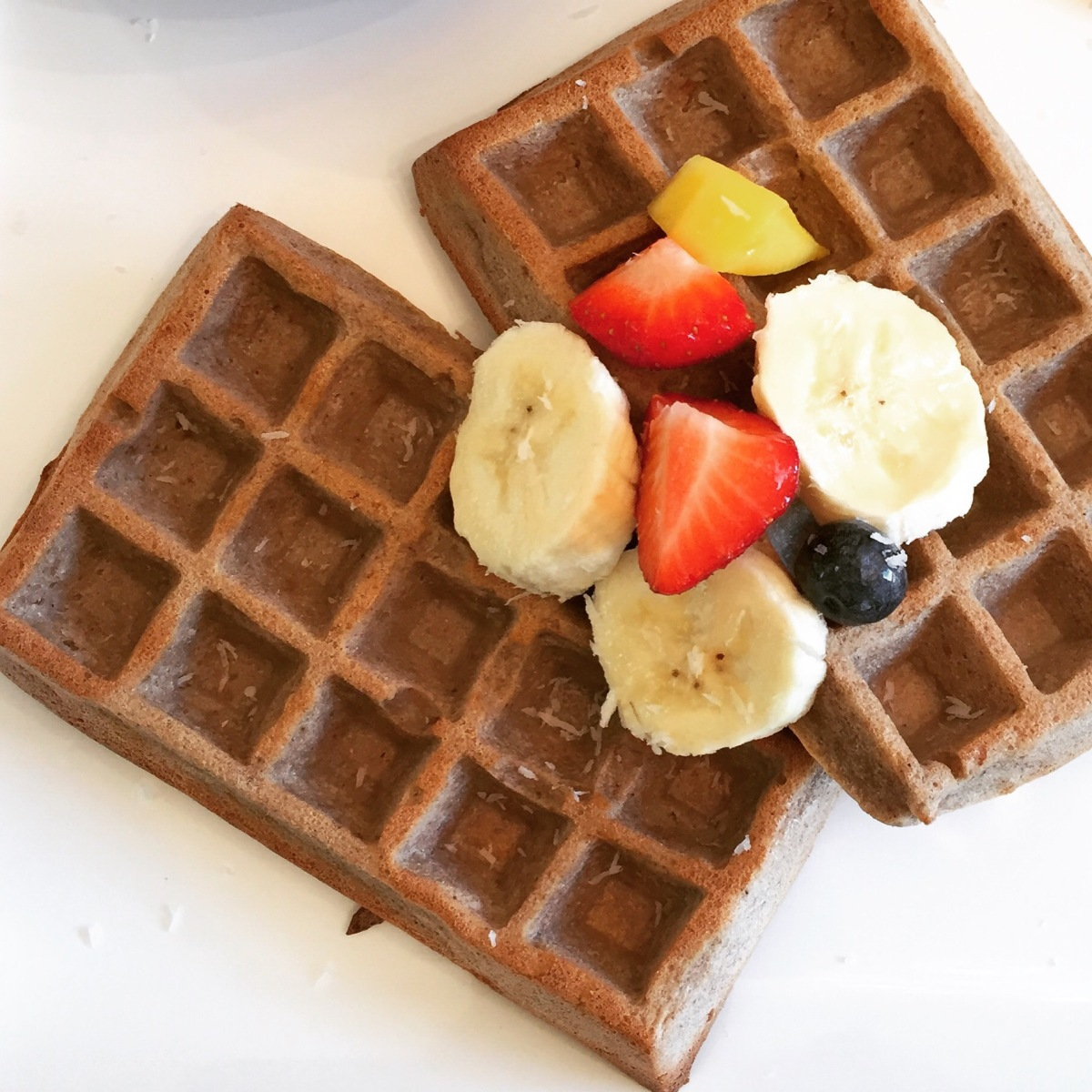 Healthy vegan Go Bananas Oat wafels